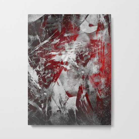 By Chance Metal Print