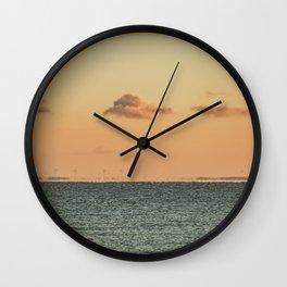 Renewable Dawn Wall Clock