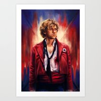 les miserables Art Prints featuring Les Miserables  by symphonikaa