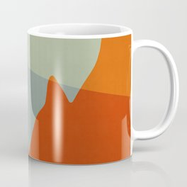 Geometric Landscape XI Coffee Mug