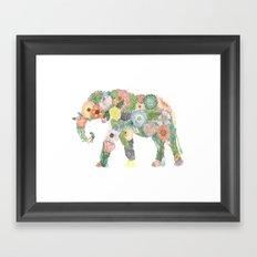 Elephlower Framed Art Print