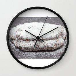 Christmas stollen Wall Clock