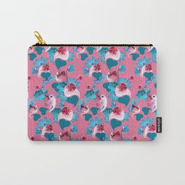Pink Cats Carry-All Pouch