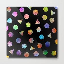 Platonic solids II Metal Print
