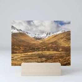 Golden Valley. Mini Art Print