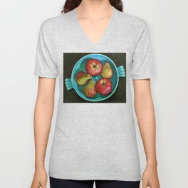 Apple Bowl Unisex V-Neck