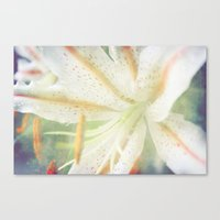 lily Canvas Prints featuring Lily by Deepti Munshaw