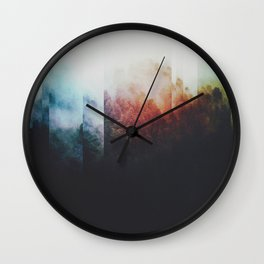 Fractions A75 Wall Clock