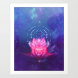 Emotional Nature Art Print