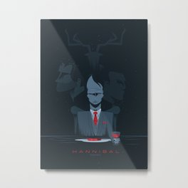 Hannibal series Metal Print