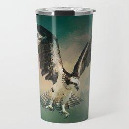 Osprey In Flight Travel Mug