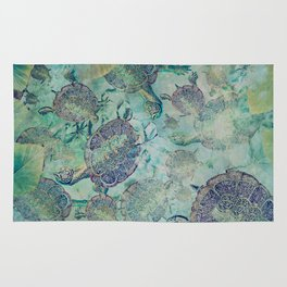 Watery Whimsy Rug