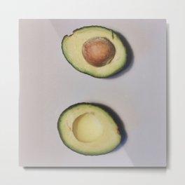 Healthy Fats | Avocado (2) Metal Print