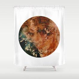 Girl Antithesis Shower Curtain