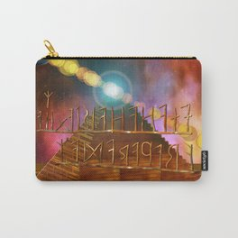 Ancient Secrets THOTH 3D Scifi Egyptian Carry-All Pouch