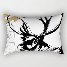The Ungava Collection: The Reindeer (caribou) Rectangular Pillow