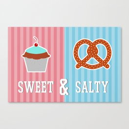 Sweet and Salty Canvas Print