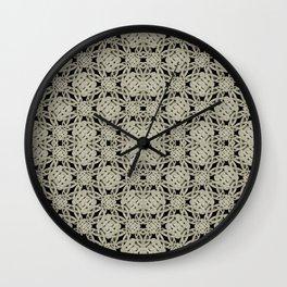Interlace Arabesque Pattern Wall Clock