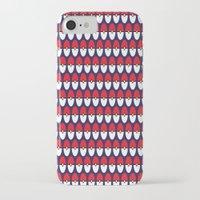pokeball iPhone & iPod Cases featuring Pokeball Pattern by Jennifer Agu