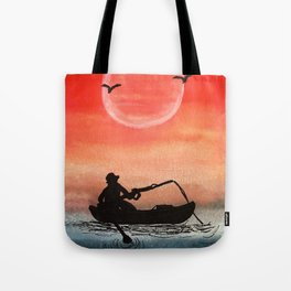 Patience and Solitude Tote Bag