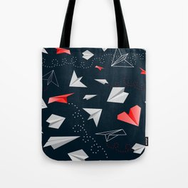 Paper airplanes Tote Bag