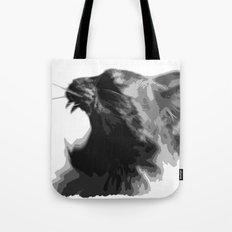 Kitty War Cry Tote Bag