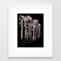 u2 Framed Art Prints featuring U2 nach Pankow by Daryl Alexsy