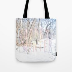 Goodbye Winter Tote Bag