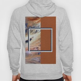 Split Perspective - Abstract Geometric Design Hoody