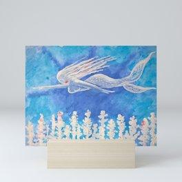 Underwater Mermaid 01 Mini Art Print