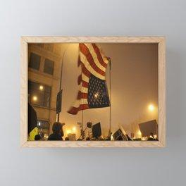 USA Framed Mini Art Print