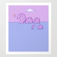 Little Nessie Art Print