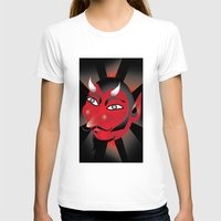 demon T-shirts featuring Demon by riomarcos