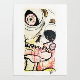 Zombie look Poster