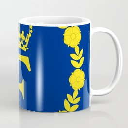 Queen Elizabeth II flag Coffee Mug