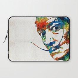 Colorful Dali Art by Sharon Cummings Laptop Sleeve