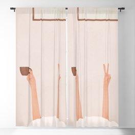 Good Peaceful Morning Blackout Curtain