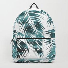 Maui Palm Leaf 2 green Backpack