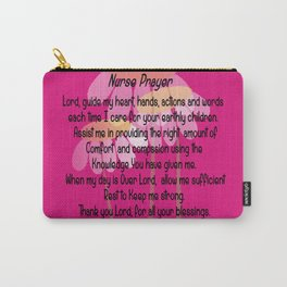 Christian Nurse Prayer Carry-All Pouch