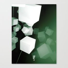 CUBIC PART ONE Canvas Print