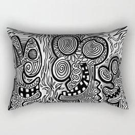 hell oh hades Rectangular Pillow