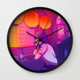Ramen shop Wall Clock