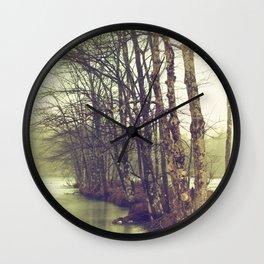 Natures Winter Slumber Wall Clock