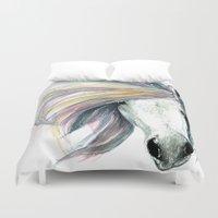 spirit Duvet Covers featuring Spirit by Abigail Leigh