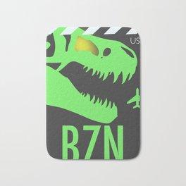 BZN Bozeman Yellowstone airport code Bath Mat
