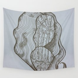 Forest Lady Wall Tapestry