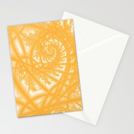Venetian Lace in Gold Stationery Cards
