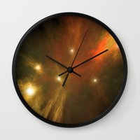 constellation Wall Clocks featuring Constellation by GothicToggs