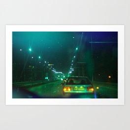Green Esc Art Print