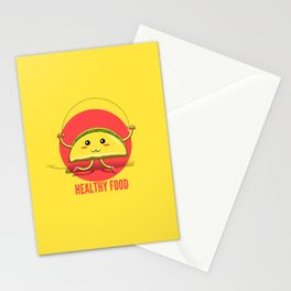 Healthy Food Stationery Cards